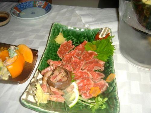 beef-throas-sashimi