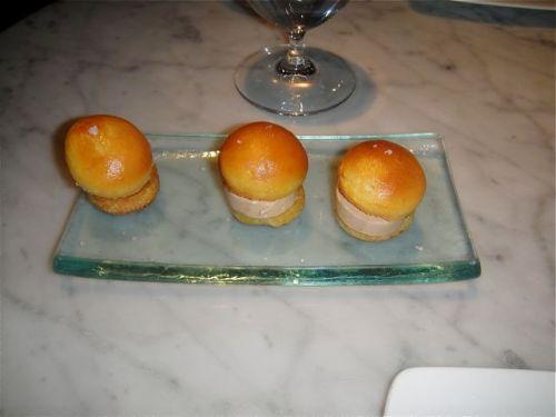 brioche and foie