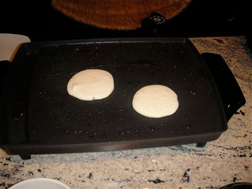 Blini cooking