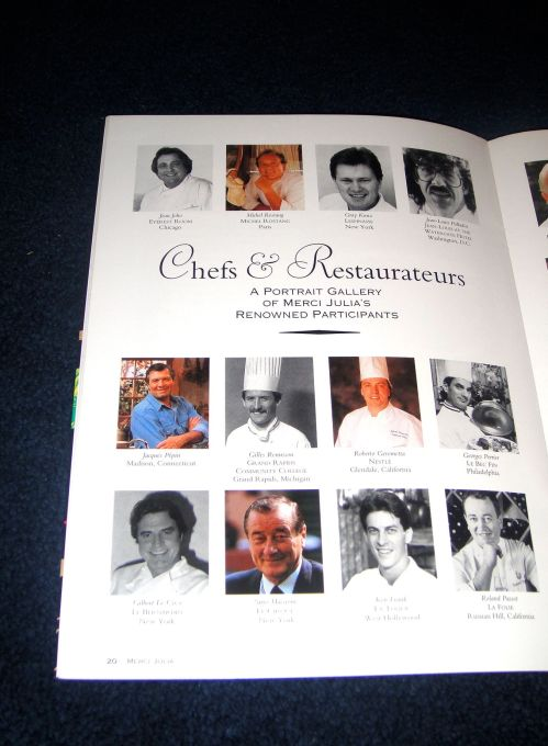 chefs first page
