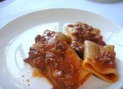 DG pasta close-up
