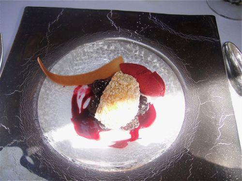Spago dessert