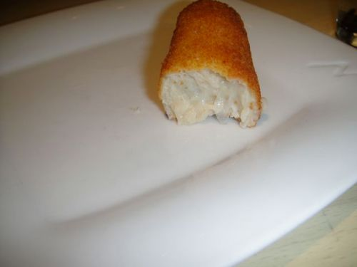 inside of croquette