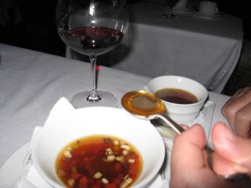 duck consomme