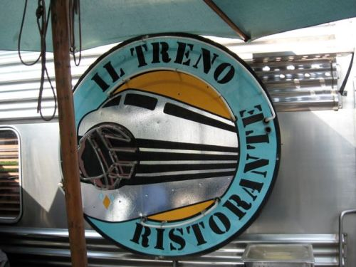Il Treno Sign big