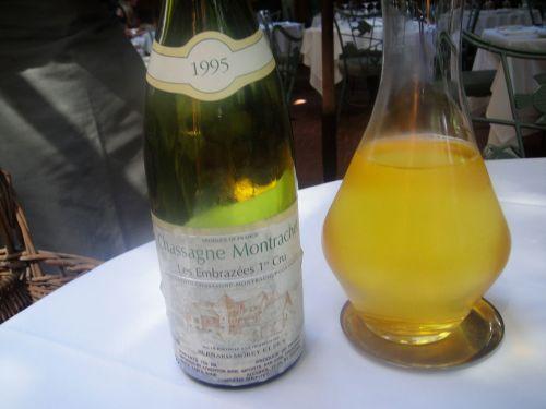 Spago BYO white wine