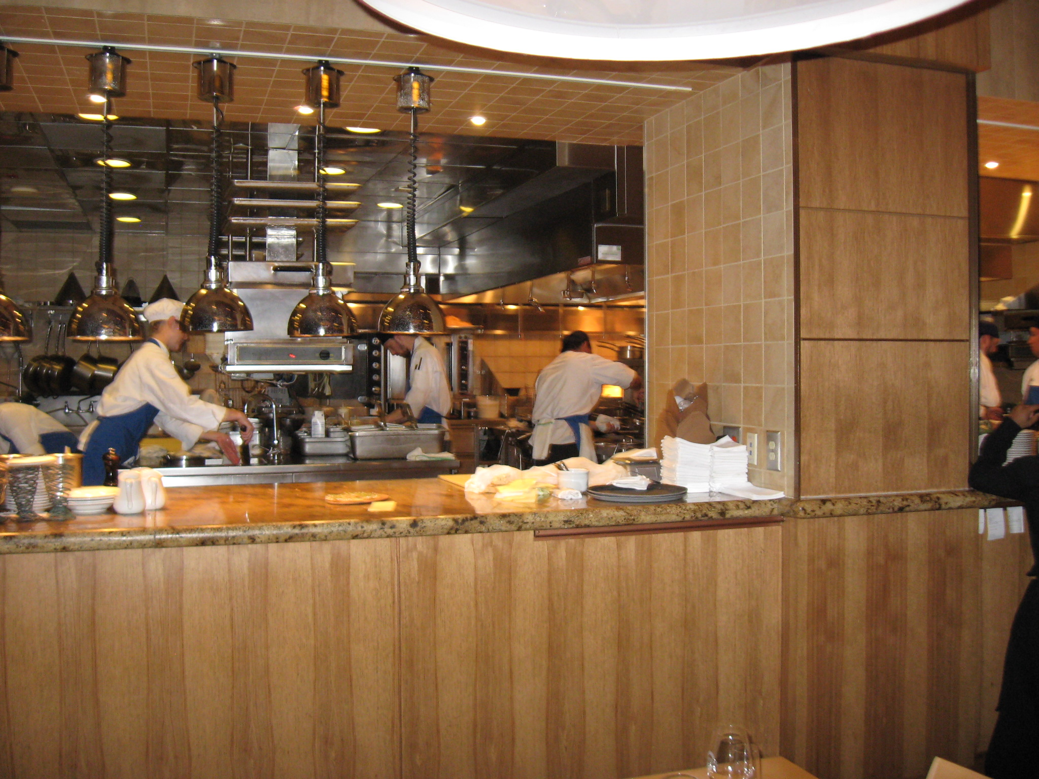 District of columbia refined palate Kitchen design for fast food restaurant