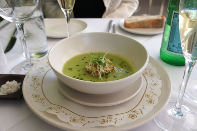 Chilled Avocado and Cucumber Soup with Dungeness Crab – the essence ...
