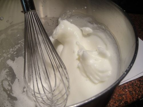 egg whites for blinis