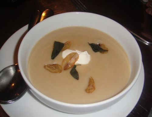 Milo - chestnut soup