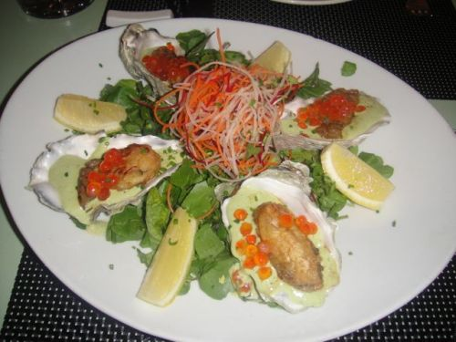 Chinois - oysters