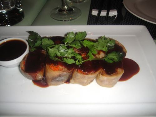 Chinois - pork belly wrap