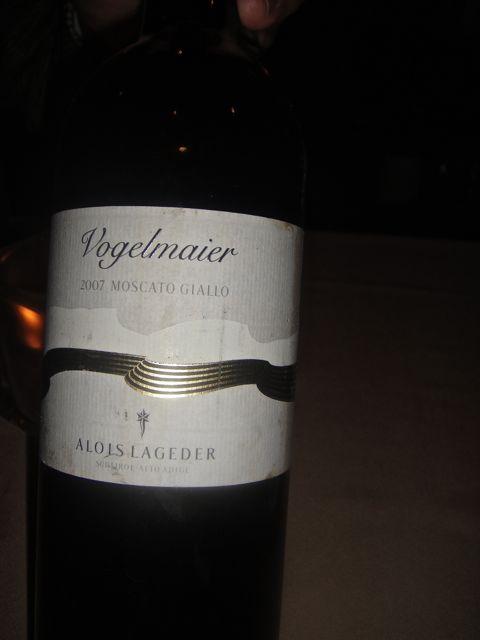 Vin white wine
