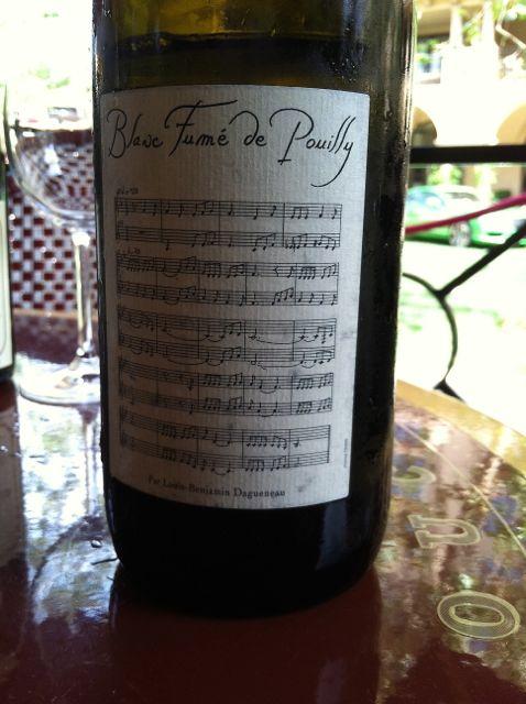 B- white wine