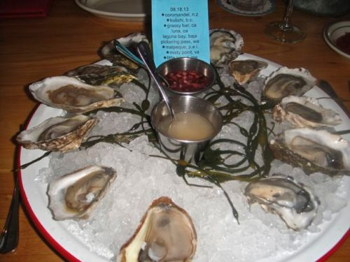 Connie- oysters