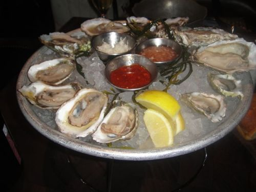Water Grill Oysters