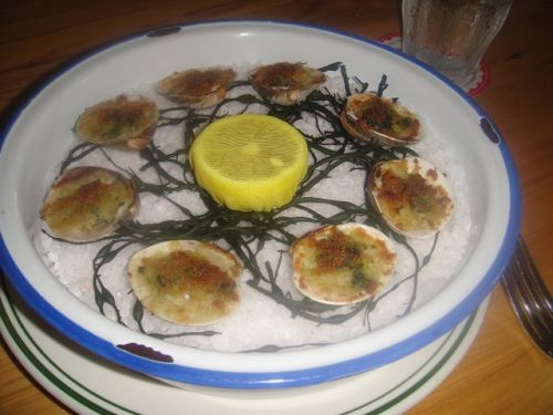 Connie- baked clams