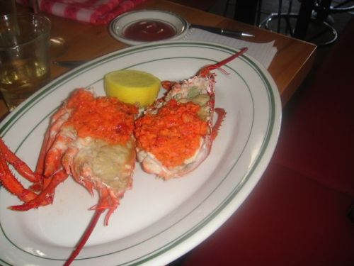 Connie- lobster with roe