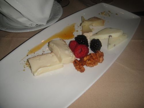 Vin Cheese course