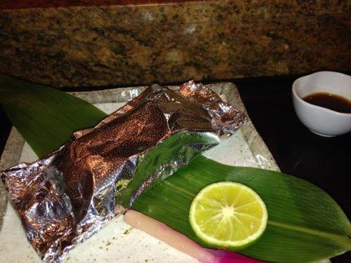 Taiko - mushroom wrapped