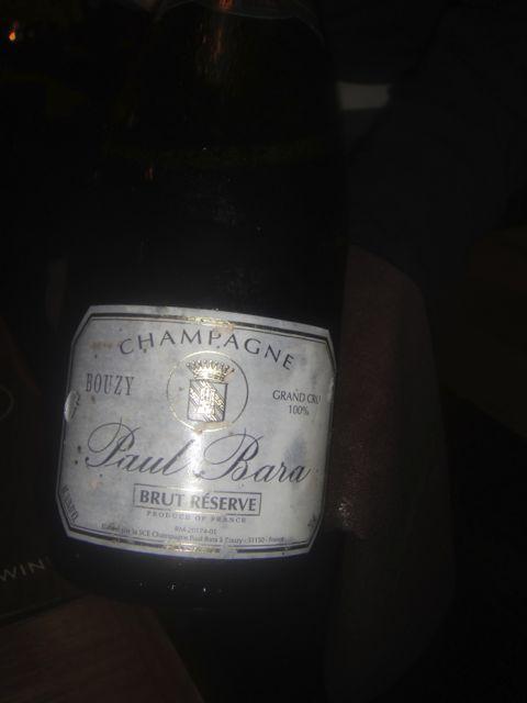 David - champagne