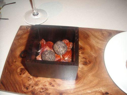 Man- chestnut truffles