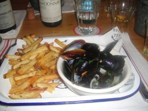 Connie - mussels
