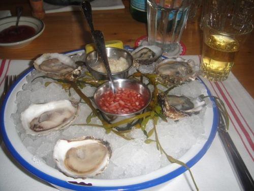 Connie - oysters