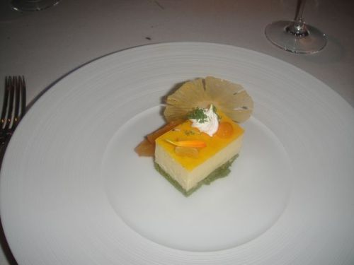Fr - dessert plated