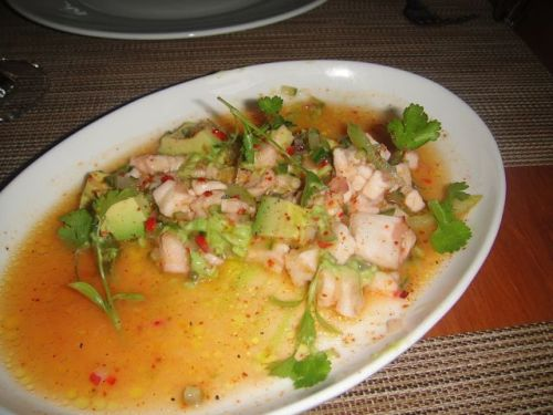 Craft - halbut ceviche
