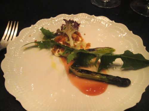 M - asparagus