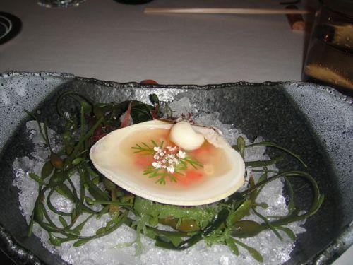 P - clam chorizo