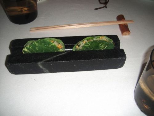 P- scallop taco