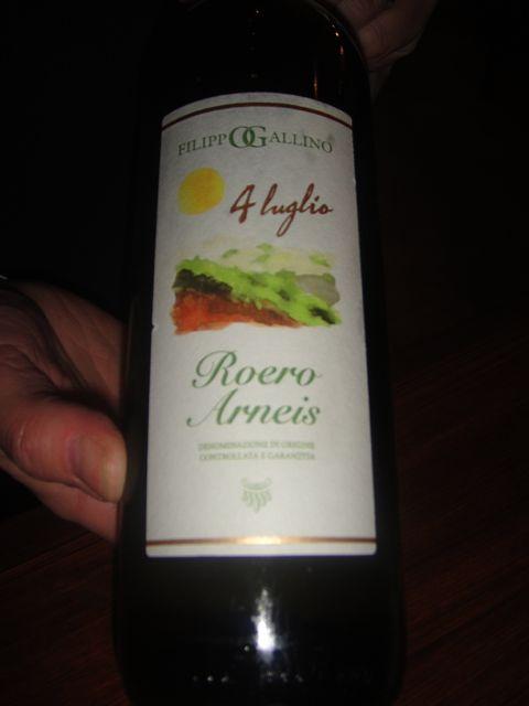 V- white wine
