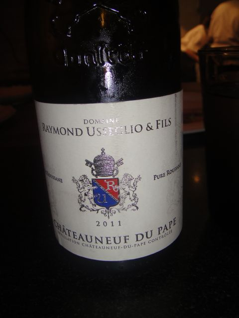 Maude wine - du pape