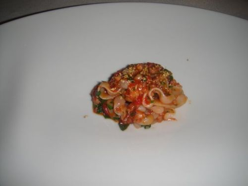 P- 6 Squid Bolognese