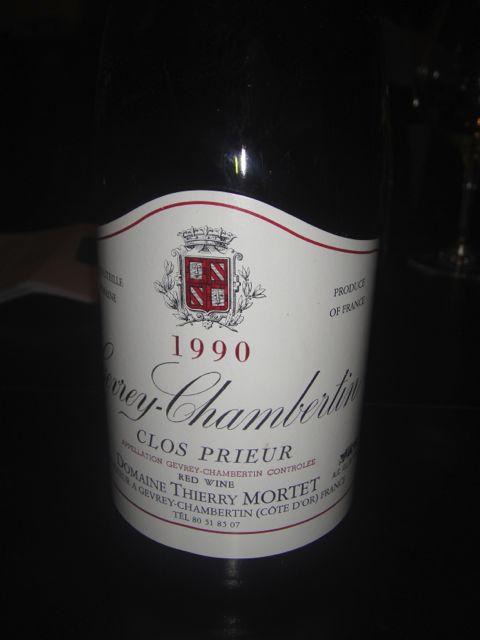 B- first wine