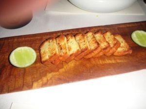 P - bread with caviar #6