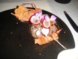 P - prawn #7 dish