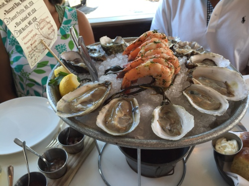 Oysters and Shrmp